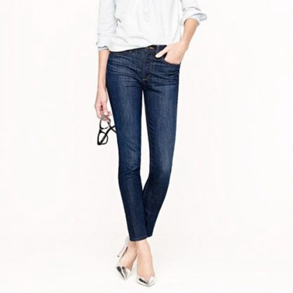 Jcrew toothpick jeans 31T 31 tall denim jeans long